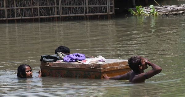 Alarm bells for an unprecedented wave of floods in East and North East India rang on August 11