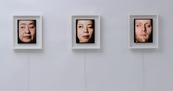 Watch: These uncanny clocks with human faces roll their eyes to tell you the time