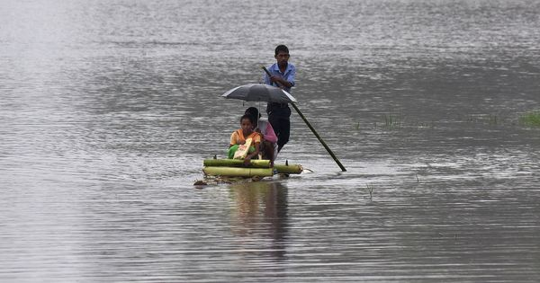 In photos: Flood situation worsens in Bihar, West Bengal, Assam, rail and road services disrupted