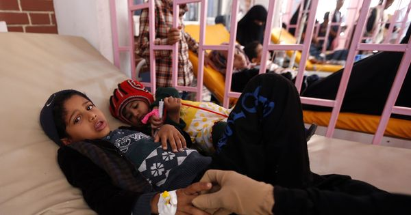 Cholera killed nearly 2,000 people during the past four months in Yemen, says WHO report