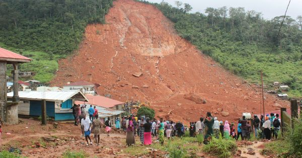Sierra Leone: Rescue workers find 270 bodies after mudslide, thousands more feared buried