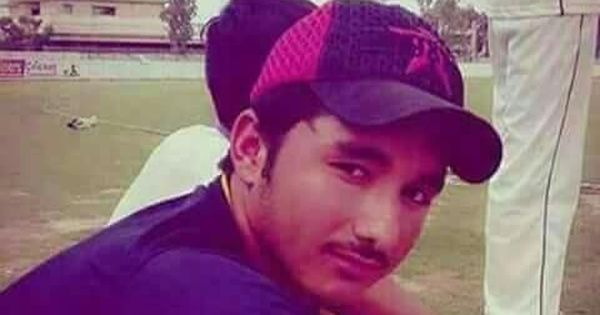 Pakistani club cricketer dies after being hit on the head by a delivery during a local match