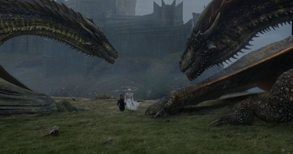 In photos: Jon Snow meets his nemesis in the new 'Game of Thrones' episode