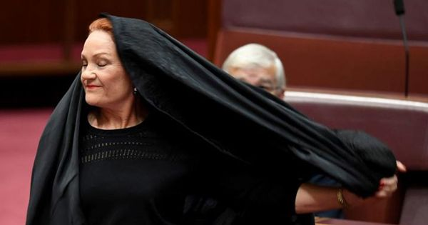Video: Australian Attorney General applauded for rebuking a senator's bid to ban burqa