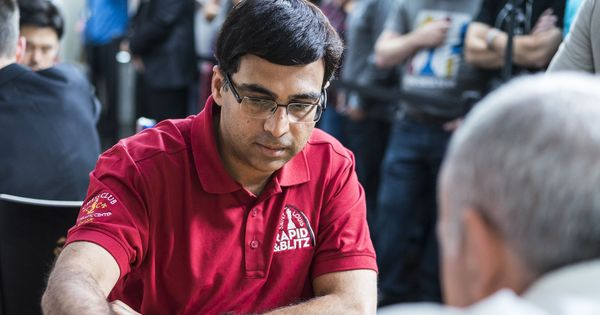 Chess: Anand beats Xiong to secure first win at Tata Steel Masters, joins Carlsen in sixth place