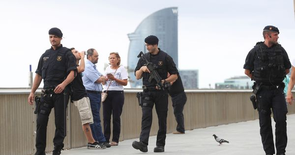 Barcelona attack: Police search for Moroccan-born suspect who is believed to have killed 13 people