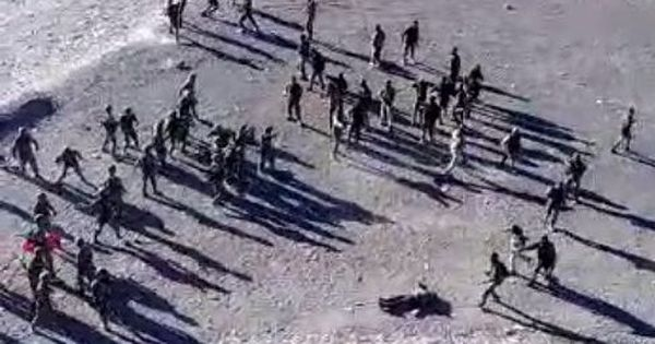 Watch: Video appears to show evidence of stone-pelting between Indians and Chinese in Ladakh