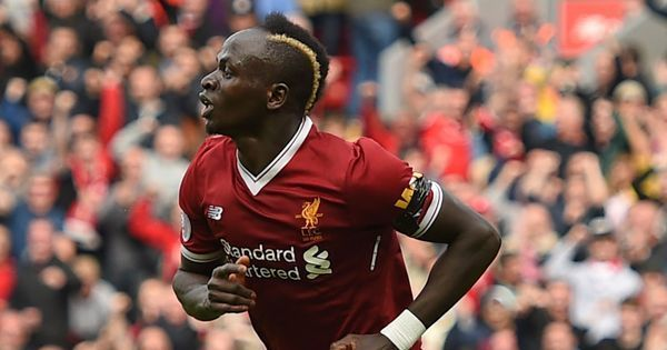 Sadio Mane strikes home Liverpool's first win in the new season against Crystal Palace