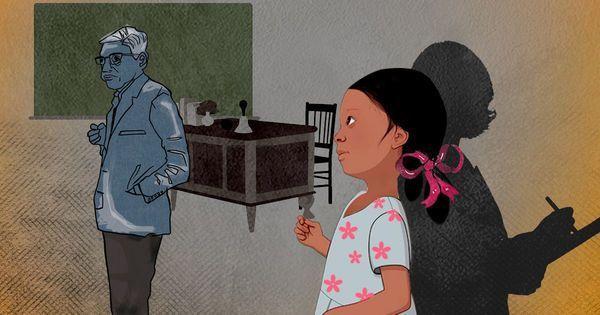 'जो कड़वे सच मैंने बचपन में ही जान लिए थे, अब अपने छात्रों को उनसे बचाकर रखना चाहती हूं'