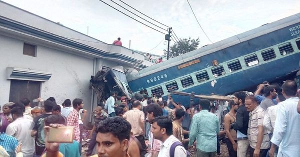 Failure of railway staff led to Utkal Express derailment in Uttar Pradesh, says preliminary report