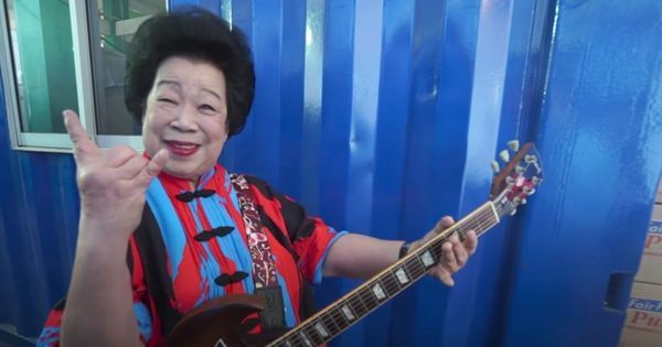 Watch: Mary Ho, the 81-year-old guitar granny from Singapore, shows age is just a number