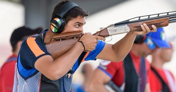 15-year-old Shapath Bharadwaj wins bronze in double trap at the Junior World Cup