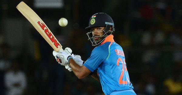 India vs Australia: Shikhar Dhawan released from squad for first three ODIs