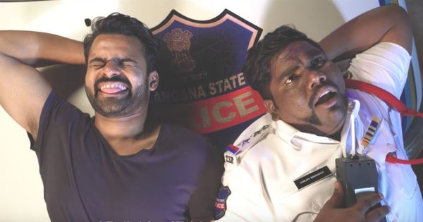 Watch: Drunk drivers cannot get away in this (funny) video featuring Youtube sensation 'Viva' Harsha