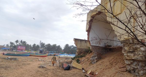 A new port in Kerala sparks fears of sea erosion in coastal villages