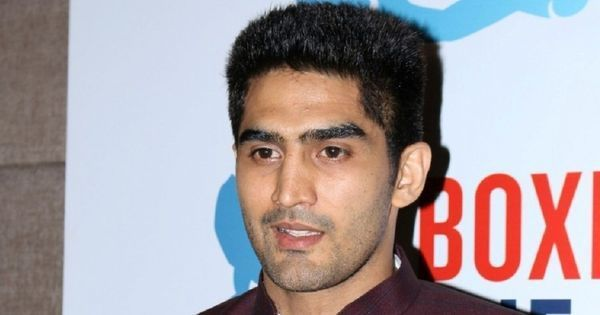 It helps youngsters find a voice: Vijender Singh wants athletes to voice opinions on public issues
