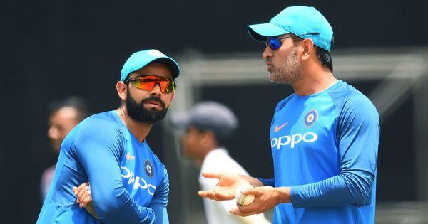 Long streak of matches will help MS Dhoni find momentum, feels Virat Kohli
