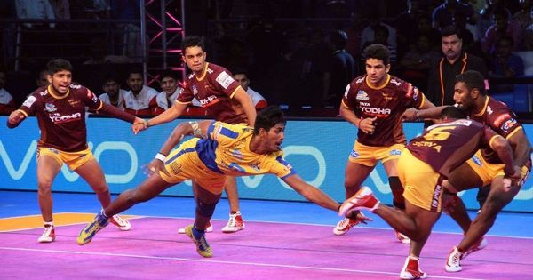 Pro Kabaddi: Haryana Steelers beat Dabang Delhi, UP Yoddhas tie with Tamil Thalaivas
