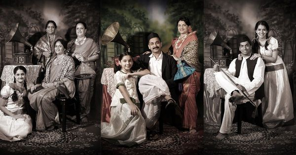 Cooler than your selfie stick: This Mumbai couple is shooting glamorous, nostalgic family portraits