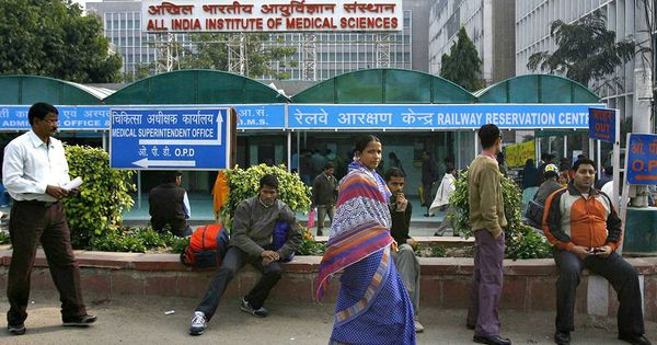 AIIMS can stop charging patients for diagnostic procedures that cost less than Rs 500, says panel