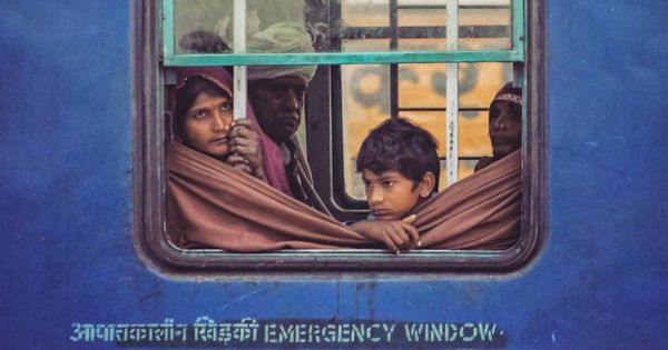 A photographer is turning his childhood love for window seats into a series on the Indian Railways