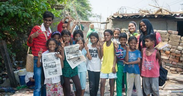 Video: This Delhi newspaper is run completely by street children