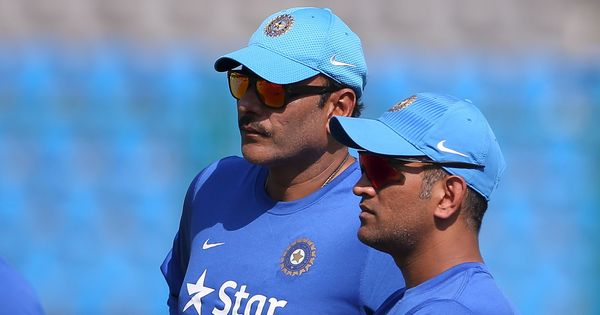 'MS is not going anywhere': Shastri dismisses speculation surrounding Dhoni's retirement