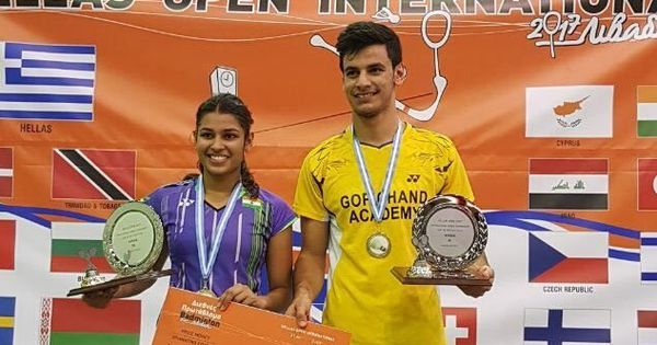 Rohan Kapoor-Kuhoo Garg win mixed doubles title at Hellas Open