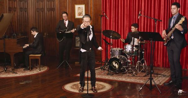 Watch this formidable James Bond-style jazz cover of Taylor Swift's 'Look What You Made Me Do'