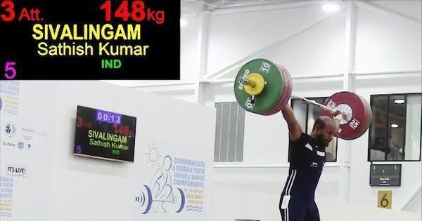 Weightlifters  Sathish Kumar, RV Rahul qualify for 2018 Commonwealth Games