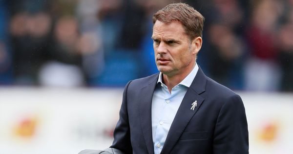 Quick exit: Crystal Palace sack manager Frank De Boer after just five matches in charge