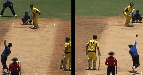 Right-arm or left-arm? Ambidextrous Akshay Karnewar gives Australia a taste of his talents