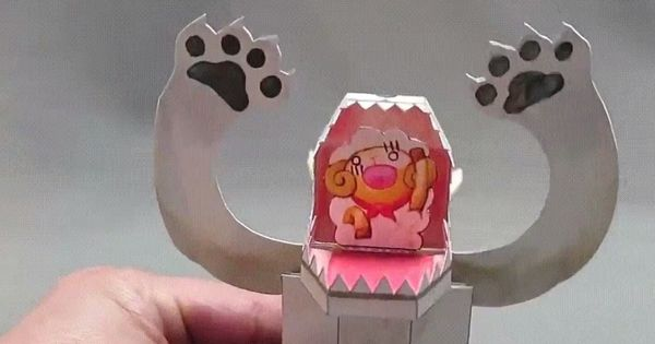 Watch: These creations of a Japanese artist look like simple paper toys, till you touch them