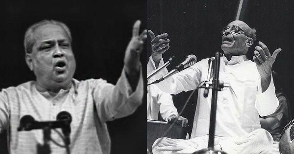 Listen: Mallikarjun Mansur and Kumar Gandharva, two maestros from Karnataka, explore raag Gauri
