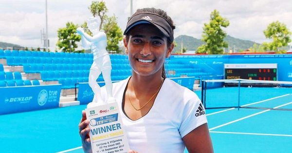 With an improved game and 4 years of college tennis, Rutuja Bhosale back to where it began