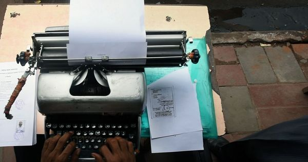 Meet a man from Delhi who is trying hard to keep the dying breed of typewriters alive