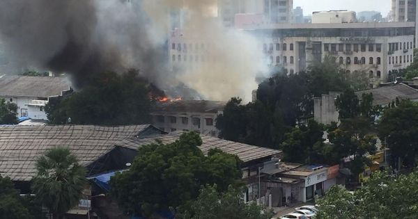 Mumbai: Fire breaks out on sets of TV show 'Super Dancer' at RK Studio, no casualties reported