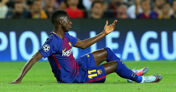 Barcelona's Ousmane Dembele suffers new injury setback