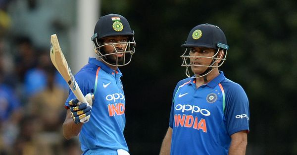 Pandya, Dhoni guide India to easy win over Australia in first ODI