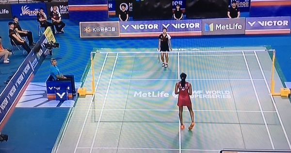 Watch: Sindhu vs Okuhara gave us another stunning rally, with 56 shots this time