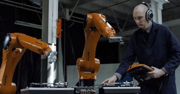 Watch: These robots playing music look like they were always meant to be musicians
