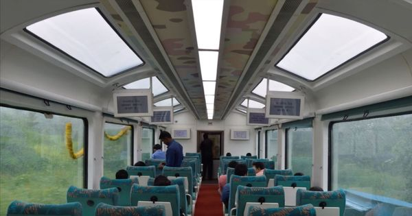 Watch the stunning views that passengers on the new Vistadome train from Mumbai to Goa can get