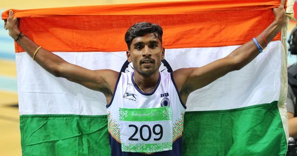 Runners PU Chitra, Lakshmanan win gold medals at the Asian indoor athletics meet