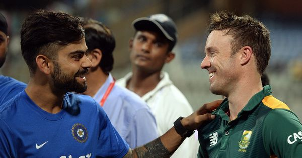 Fiery comeback: AB de Villiers dethrones Virat Kohli to take top spot in one-day rankings