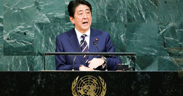 Time for dialogue with North Korea is over, says Japan PM Shinzo Abe