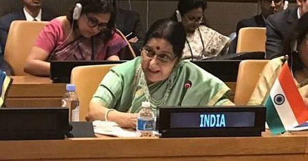No act of terror can be justified, says Sushma Swaraj