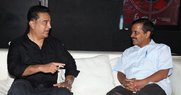 Kamal Haasan should join politics, Arvind Kejriwal says after meeting the actor in Chennai