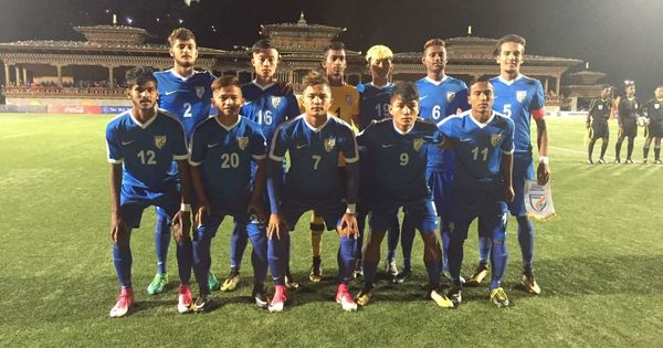 India defeat Bhutan 3-0 at U-18 SAFF Championships