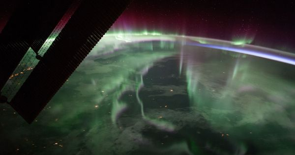 Watch: NASA's International Space Station captured a spectacular aurora over Canada