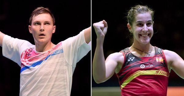 Badminton: Viktor Axelsen, Carolina Marin win singles titles at Thailand Open